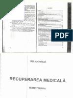 Termoterapia de Delia Cinteză