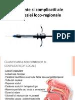 Accidente Si Complicatii Ale Anesteziei Loco-regionale