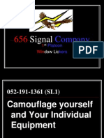 Camouflage Yourself and Individual Equipment.ppt