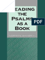 [Roger Norman Whybray] Reading the Psalms as a Boo