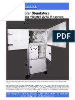 Sun 2000 Solar Simulators