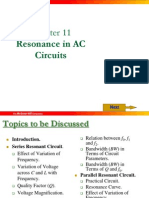 Chapter 11 Resonance in AC Circuits
