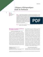 Aspects cliniques et thérapeutiques de la maladie de parkinson
