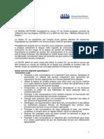 Frances - Niveau Aptitude - c1