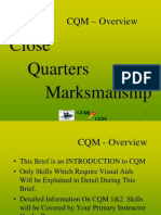 Close Quarters Marksmanship (CQM) Level 1.ppt