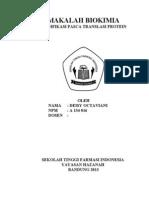 Modifikasi Pasca Translasi Protein 2003_STFI_Bandung