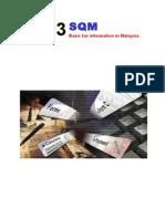 Malaysia Tax Information - YA 2013