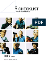 Small Business Safety Checking Out Your Workplace Checklist 1284