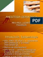 Anestesia Geriatrica