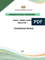 MODUL Pendidikan Moral PAV