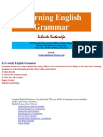Let's Study Grammar