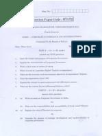 Question Paper Ethics