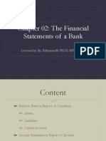Ch02-The Financial Statement of a Bank