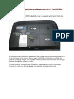 Cara Bongkar dan ganti sparepart Laptop Asus A42J Corei3 NVidia.doc