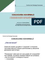 Comunic. nonverbala - Prezentare