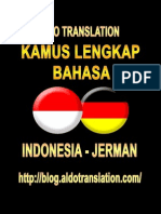 Kamus Indonesia Jerman
