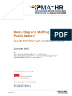 Recruitment in Public Sector