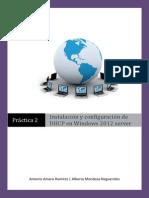Windows 2012 Como Servidor DHCP