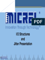Micrel HBW I O Structures Jitter