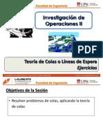 T2.2 IO II - UPN - Teoría de Colas - Ejercicio 1