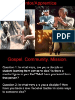 Gospel Community Mission (Discipleship)