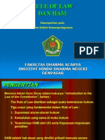 Rule of Law dan HAM