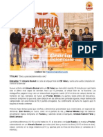 Diez y gracias(baloncesto.com) - Almería Basket 53 - 49 CB Vélez