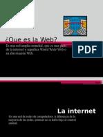La Web y la Red