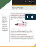 SafeNet Product Brief eToken PKI Client