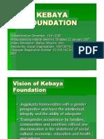 KEBAYA Profile