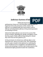Judiciary systtem of india