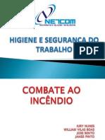 Apresentação COMBATE AO INCÊNDIO