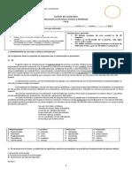 Evaluación final 1 medio FILA B