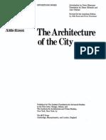 Rossi Structureofurbanartifacts