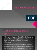 The Design Speed REPORT Semeniano