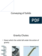 Conveying of Solids