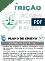 01 - 1o BIM - Apresentacao Do Plano de Ensino - NUT - CHS - 2014