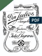 Algunas Obras de Guitarra Julio S. Sagreras