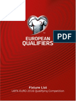 Euro 2016 Calendario Delle Qualificazioni
