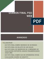 Examen Final PSD Web