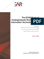 The Ecar Study of Undergraduate Students and Information Technology, 2008