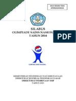 Silabus OSN SMP 2014