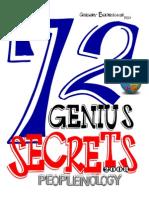 72 Genius Secrets