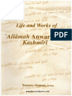 Life And Works Of Allamah Anwar Shah Kashmiri By Shaykh Yunoos Osman