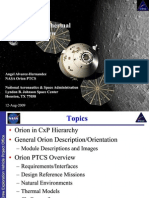 NASA Orion Spacecraft Passive Thermal Control Overview