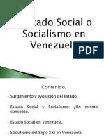 Present Ac i on Estado Social Gr