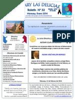 Boletin Rotary N° 32 Enero 2014