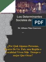 Determinantes sociales de salud 2009