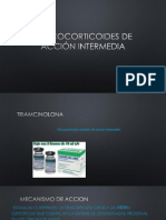 Glucocorticoides de acción intermedia