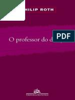 O Professor Do Desejo - Philip Roth